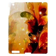 Awesome Colorful, Glowing Leaves  Apple Ipad 3/4 Hardshell Case by FantasyWorld7