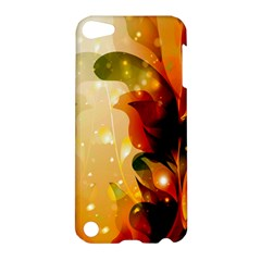 Awesome Colorful, Glowing Leaves  Apple Ipod Touch 5 Hardshell Case by FantasyWorld7