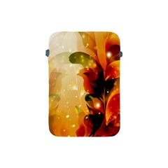 Awesome Colorful, Glowing Leaves  Apple Ipad Mini Protective Soft Cases by FantasyWorld7