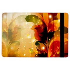 Awesome Colorful, Glowing Leaves  Ipad Air 2 Flip by FantasyWorld7
