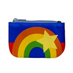 Rainbow Coin Change Purse Front