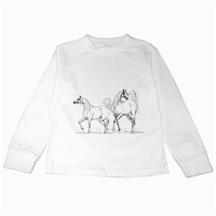 Logosquare Kids Long Sleeve T Shirts