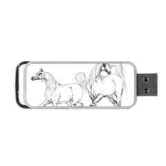 Logosquare Portable Usb Flash (one Side) by TwoFriendsGallery