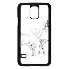 Logosquare Samsung Galaxy S5 Case (black) by TwoFriendsGallery