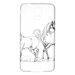 Logosquare Samsung Galaxy S5 Back Case (white) by TwoFriendsGallery
