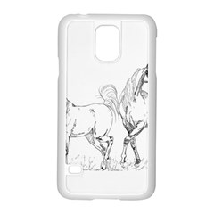 Logosquare Samsung Galaxy S5 Case (white) by TwoFriendsGallery