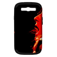 Robert And The Lion Samsung Galaxy S Iii Hardshell Case (pc+silicone) by SaraThePixelPixie
