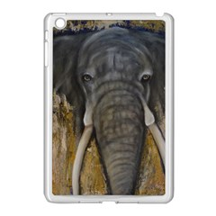 In The Mist Apple Ipad Mini Case (white) by timelessartoncanvas