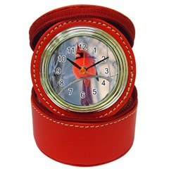 Northern Cardinal Jewelry Case Clock by haleyhearingA