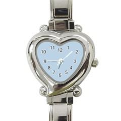 Blue Heart Italian Charm Watch  by 4SeasonsDesigns
