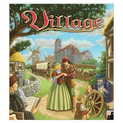 Village Cubes Bag By Thomas Covert   Drawstring Pouch (medium)   76wx5m2dyoj5   Www Artscow Com Back