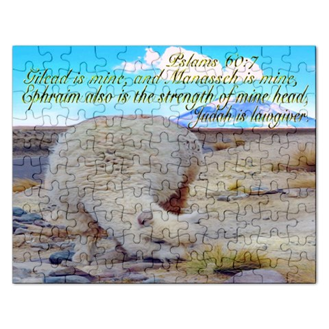 Psalms 60:7 Gilead Is Mine Judah Is Lawgiver  Puzzle 2015 By Pamela Sue Goforth   Jigsaw Puzzle (rectangular)   Lk7jjmqn6yo5   Www Artscow Com Front