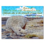psalms 60:7 GILEAD IS MINE JUDAH IS LAWGIVER. Puzzle 2015 - Jigsaw Puzzle (Rectangular)