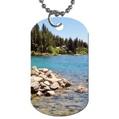 Nevada Lake Tahoe  Dog Tag (two Sides)