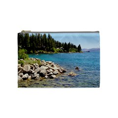 Nevada Lake Tahoe  Cosmetic Bag (Medium)  by TwoFriendsGallery