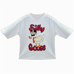 Silly Goose Baby T Shirt by Ellador