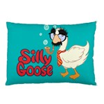 Silly Goose Pillow Case (Two Sides)