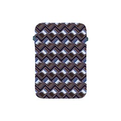 Metal Weave Blue Apple Ipad Mini Protective Soft Cases by MoreColorsinLife