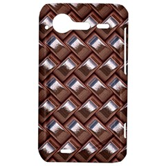 Metal Weave Pink HTC Incredible S Hardshell Case  by MoreColorsinLife