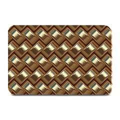 Metal Weave Golden Plate Mats by MoreColorsinLife