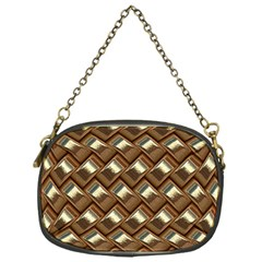 Metal Weave Golden Chain Purses (one Side)