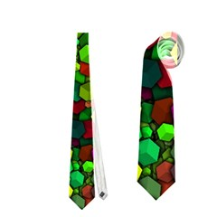Artistic Cubes 01 Neckties (one Side)