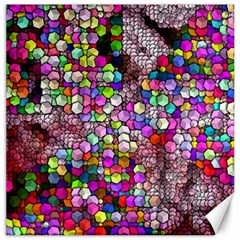 Artistic Cubes 3 Canvas 20  x 20   by MoreColorsinLife
