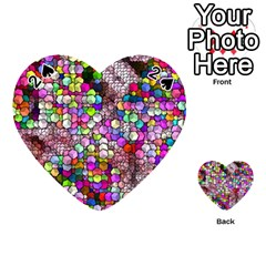 Artistic Cubes 3 Playing Cards 54 (heart)