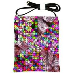 Artistic Cubes 3 Shoulder Sling Bags by MoreColorsinLife