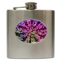 Artistic Cubes 5 Hip Flask (6 Oz) by MoreColorsinLife