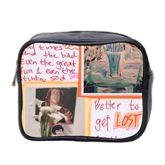 Toilet By Sally O keeffe   Mini Toiletries Bag (two Sides)   Ks0txeb7uiuz   Www Artscow Com Front