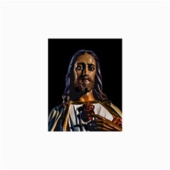 Jesus Christ Sculpture Photo Collage 12  X 18  by dflcprints