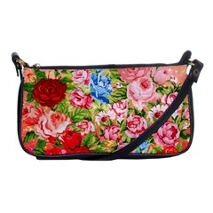 Pretty Sparkly Roses Shoulder Clutch Bags by LovelyDesigns4U