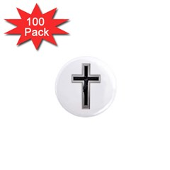 Christian Cross 1  Mini Magnet (100 Pack)  by igorsin
