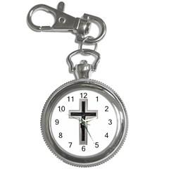 Christian Cross Key Chain Watch by igorsin