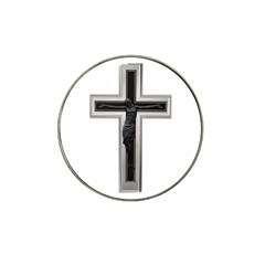 Christian cross Hat Clip Ball Marker (4 pack) by igorsin