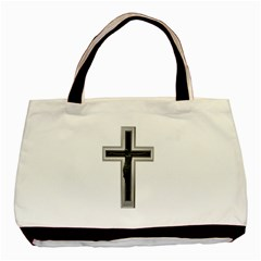 Christian Cross Basic Tote Bag (two Sides) by igorsin