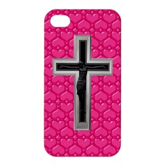 Christian Cross Apple Iphone 4/4s Premium Hardshell Case by igorsin