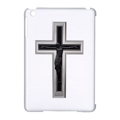 Christian Cross Apple Ipad Mini Hardshell Case (compatible With Smart Cover) by igorsin