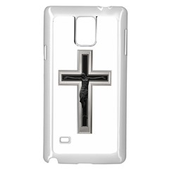Christian Cross Samsung Galaxy Note 4 Case (white) by igorsin