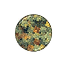 Stars Circles And Squares Hat Clip Ball Marker (4 Pack) by LalyLauraFLM