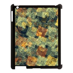 Stars Circles And Squares Apple Ipad 3/4 Case (black) by LalyLauraFLM