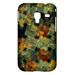 Stars circles and squares Samsung Galaxy Ace Plus S7500 Hardshell Case by LalyLauraFLM