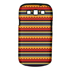 Waves And Stripes Pattern Samsung Galaxy S Iii Classic Hardshell Case (pc+silicone) by LalyLauraFLM