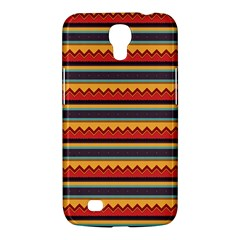 Waves And Stripes Pattern Samsung Galaxy Mega 6 3  I9200 Hardshell Case by LalyLauraFLM