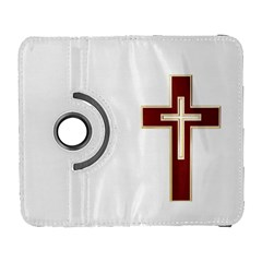 Red Christian Cross Samsung Galaxy S  Iii Flip 360 Case by igorsin