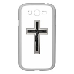 Red Christian Cross Samsung Galaxy Grand Duos I9082 Case (white) by igorsin