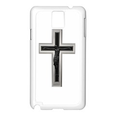 Red Christian Cross Samsung Galaxy Note 3 N9005 Case (white) by igorsin