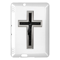Red Christian Cross Kindle Fire Hdx Hardshell Case by igorsin