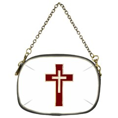 Red Christian Cross Chain Purse (one Side) by igorsin